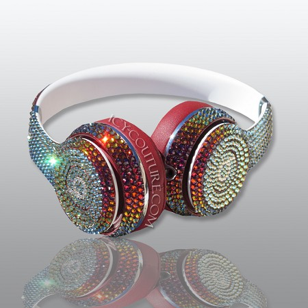 Crystal Volcano BLING Beats Customized with Swarovski Crystals. Select Your Beats
