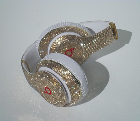 GOLD EDITION Beats Design with Swarovski Crystals. Whats Your Color?