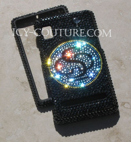Whats Your Logo? Swarovski crystal phone cover. Bling Phone!