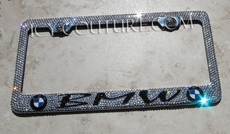 Crystallized BMW License Plate Frame. Whats Your car model?