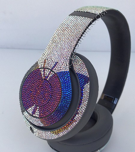 Butterfly Effect Beats Design with Swarovski Crystals