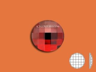 CHESSBOARD CIRCLE - Red Magma 10mm