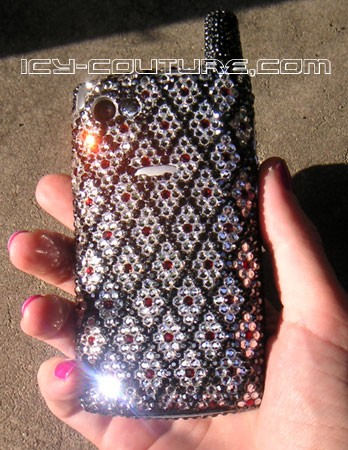 The Classique Diamond - Swarovski crystal phones & covers