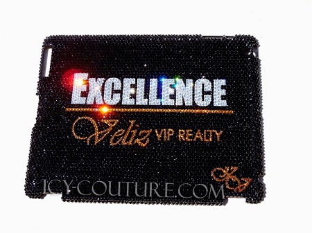 Custom Bling iPad Cover with Your Logo. Whats Your Colors?