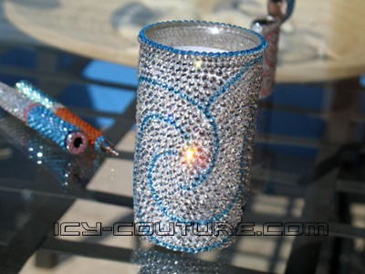 ICY Crystal Pen Holder