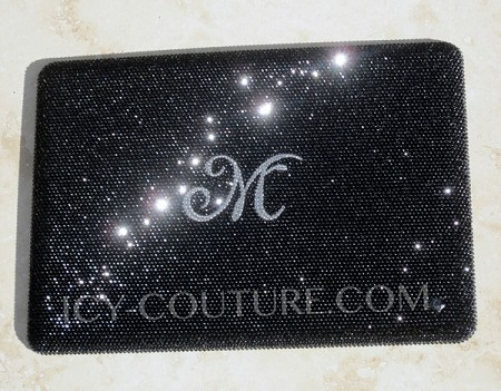 Crystal Laptop Bedazzled with Your Initials! Whats Your Style?