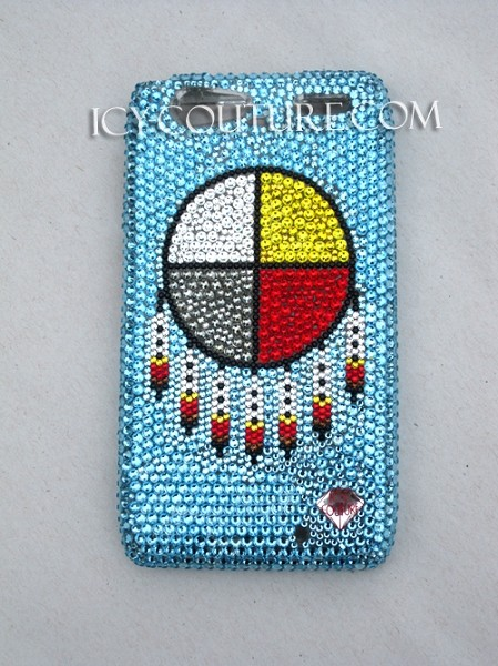 Medicine Wheel -   Crystal Phone Cover. Bling Your Phone!