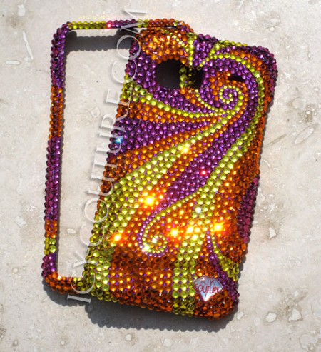 FIREBIRD Bedazzled Crystal Phone covers by ICY Couture. Bling Phone!