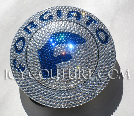 Crystal FORGIATO HORN BUTTON