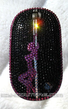 POLE DANCER series- Crystal Computer Mouse - unique gift for her