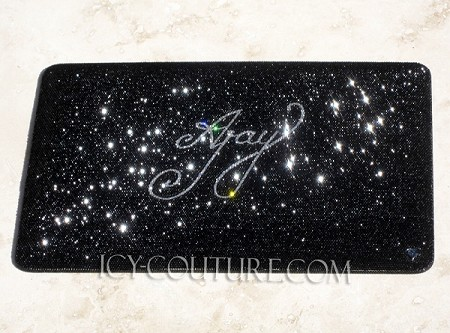 Your Name ICY COUTURE bedazzled Laptop Crystal Cover Case