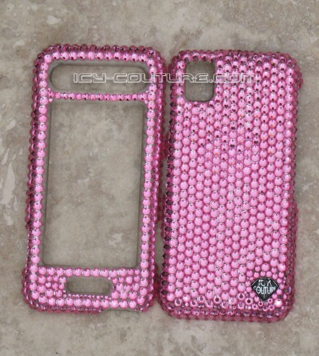 Solid Color of Your Choice. Bling Your Phone!