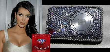 ICY Couture Crystal Photo Camera made for Kim Kardashian. Whats your color?