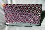 Diamond Pattern Crystal Laptop Case