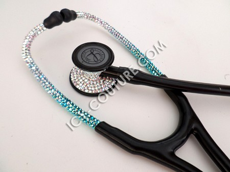Fresh Air - Littmann Cardiology Stethoscope with Swarovski Crystals. Select Your Brand.