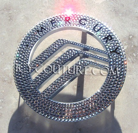 Crystal Bling MERCURY Emblem - Whats your color?