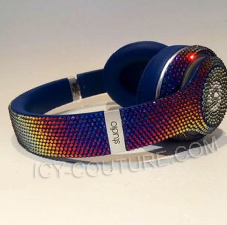FIREBIRD Custom BLING Beats with Swarovski Crystals.