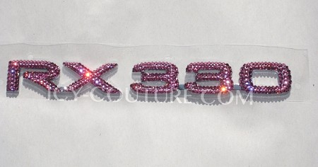 Bling RX330/RX350, or other Lexus model letters ! Whats your color?
