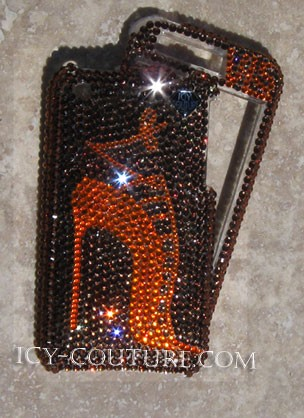 My Sexy Manolo - Swarovski Crystal phone covers. Bling My Phone!