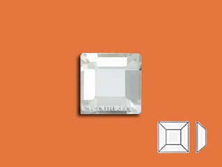 SQUARE - Crystal Clear 4mm