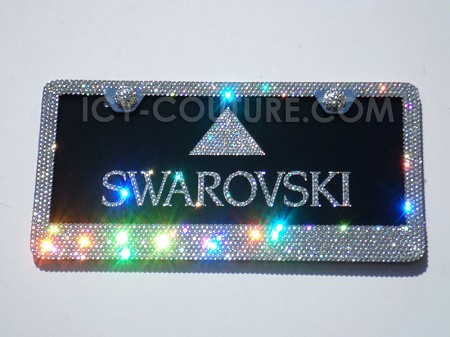 CUSTOM NAME PLATE with Swarovski Crystals