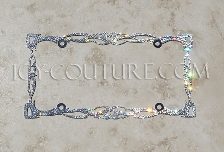 TWILIGHT Swarovski Crystal Bling License Plate Frame. Whats your color?