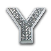 Crystallized Letter Y